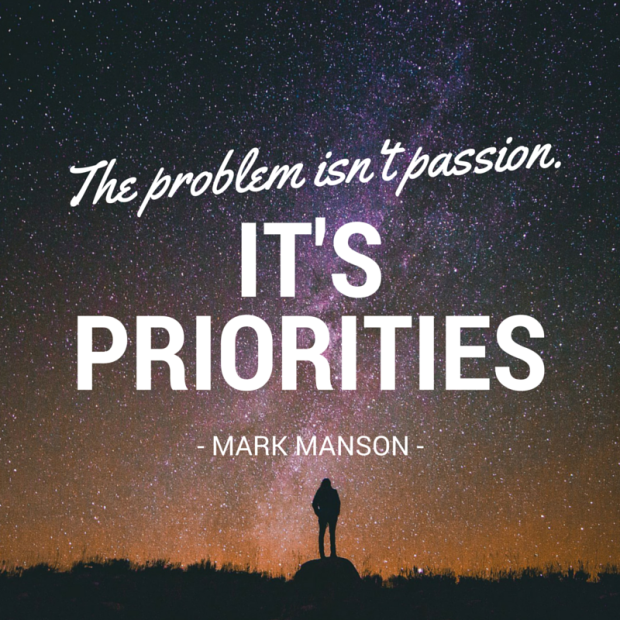 The problem isn't passion.